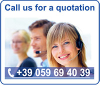 Call us on the phone for information, feasibility and quotations