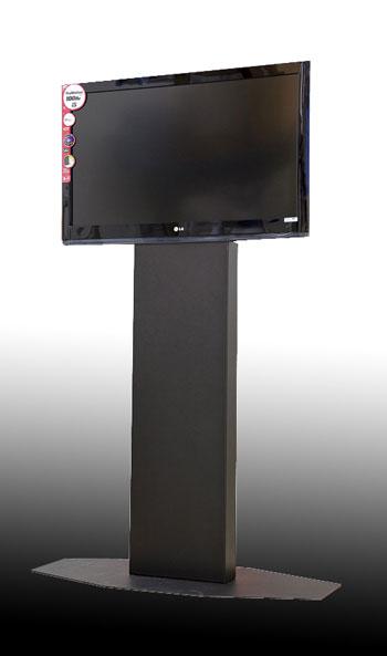 Porta Tv Totem.If Italy Manufacturer Of Advertising Metal Floor Standing